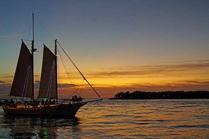 Board a Sunset Cruise