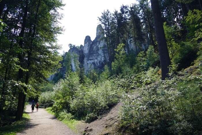 Bohemian Switzerland National Park - Prachov Rocks