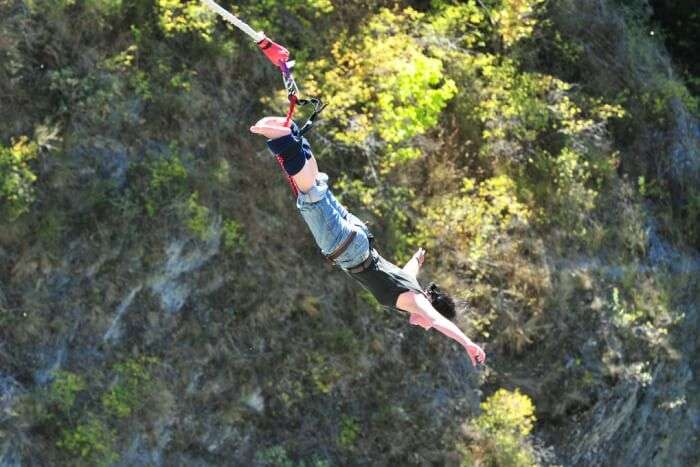 Bungee Jumps and Rope Swing