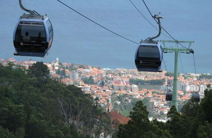 Cable Car ride Funchal