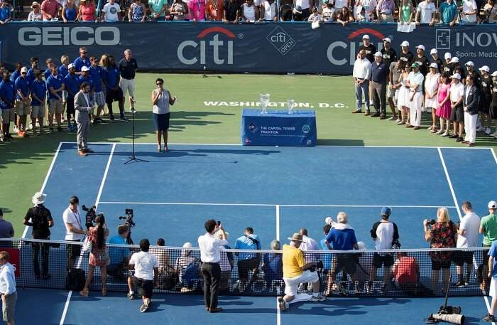 Citi Open match