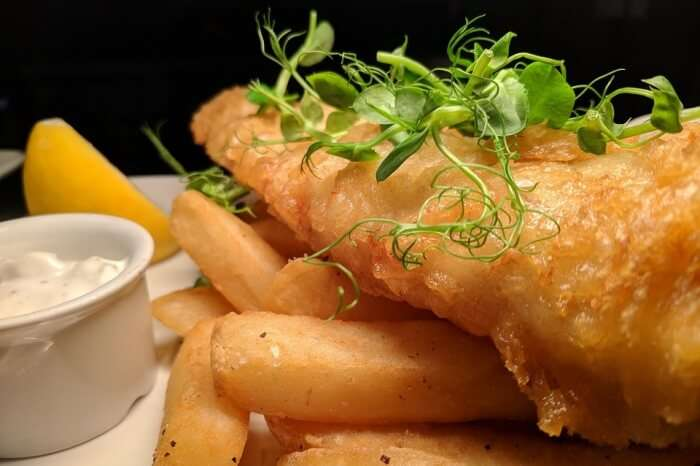 Lemon Cod Fish Friday Fish Chips Fish And Chips