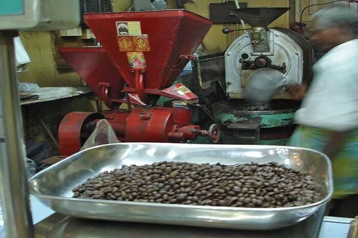 Coffee Making Process