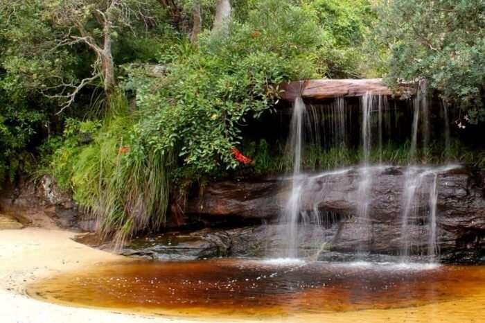 Collins Beach Waterfall