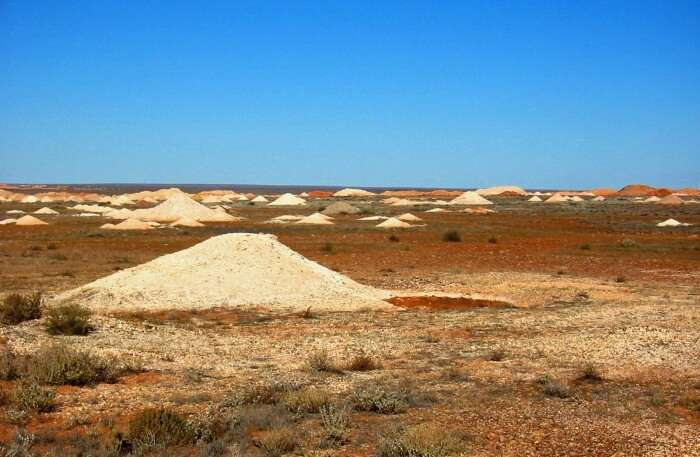 Coober Pedy In Australia