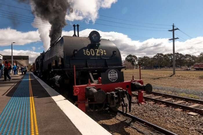 Amazing Canberra Railway Museum