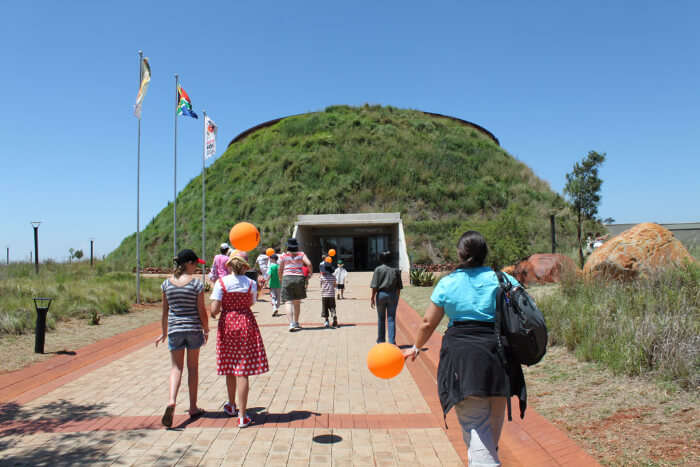 Tourists at Cradle of Humankind