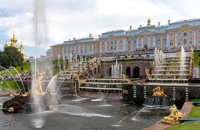 Day Trip To Peterhof