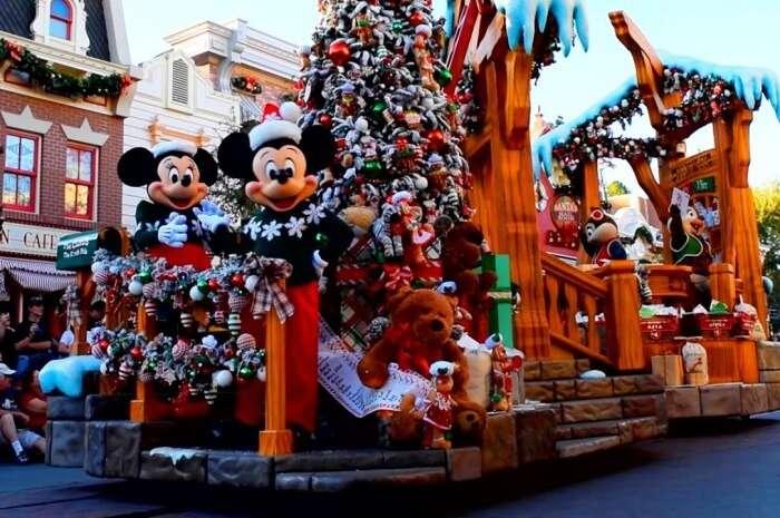Disneyland Christmas Fantasy