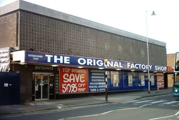 Do not trust the factory shops