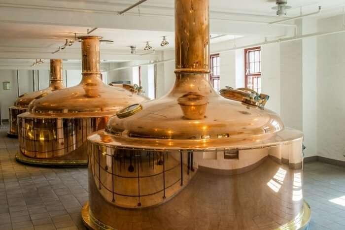 Enjoy A Beer At Carlsberg Brewery
