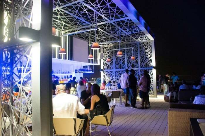 Enjoy Lunch At Skybar 25 In Accra
