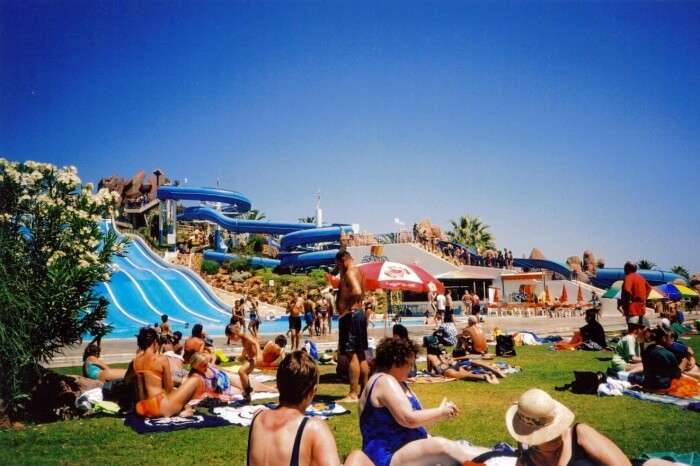 Enjoy The Famous Fasouri Water Park