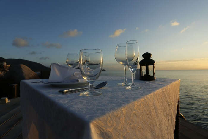 Enjoy a private dining experience
