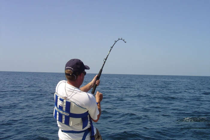 Enjoy deep sea fishing