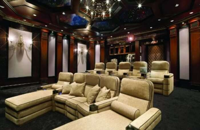 Enjoy the Movie Experience in A Luxury Theatre