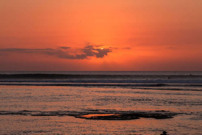 Enjoy the Tide and therefore the sunset