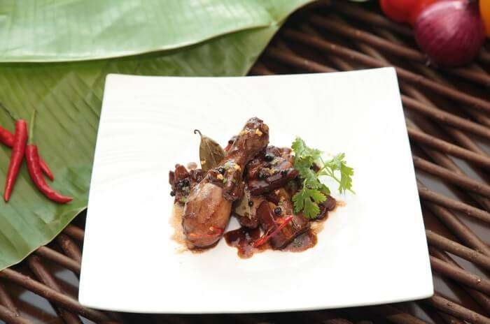Philippines Food Meat Exotic Chicken Pork Adobo