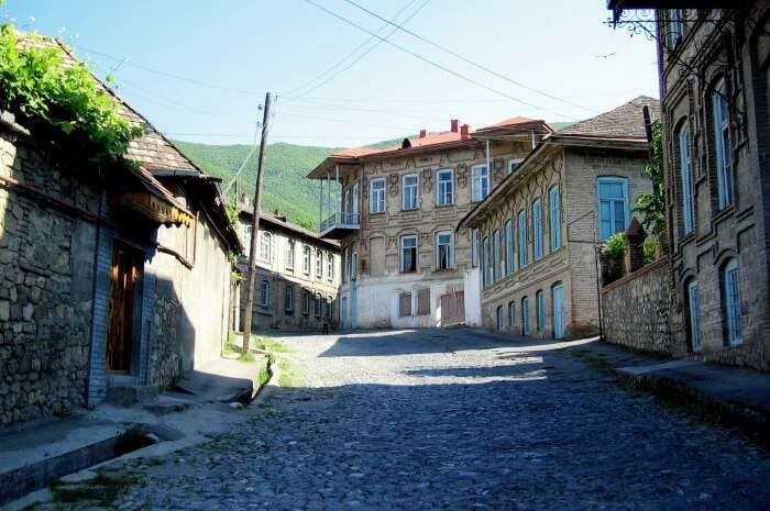 Explore the quaint town of Sheki in Azerbaijan