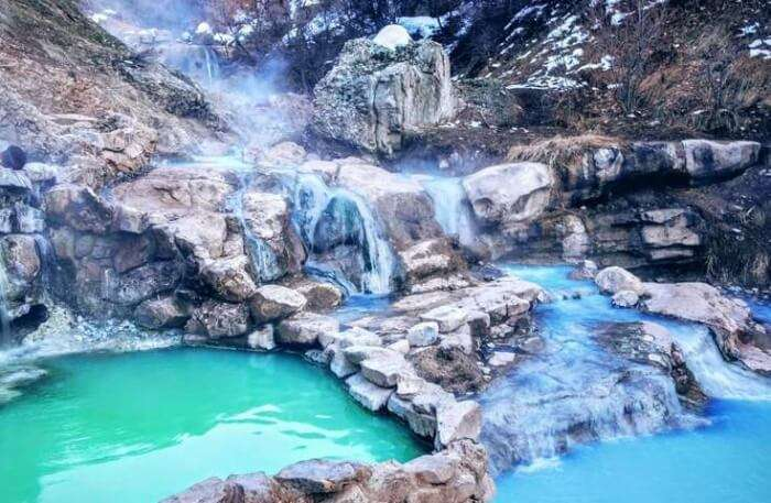 beautiful Water Hot Springs