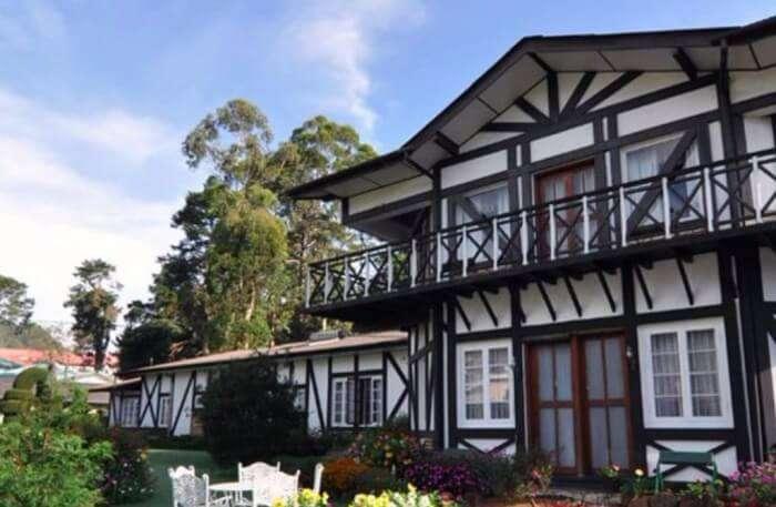 Glendower Hotel View