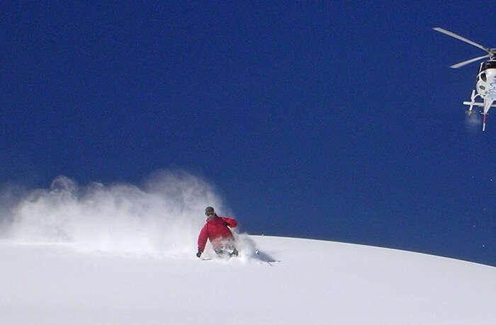 Go on a Helicopter Ski Safari
