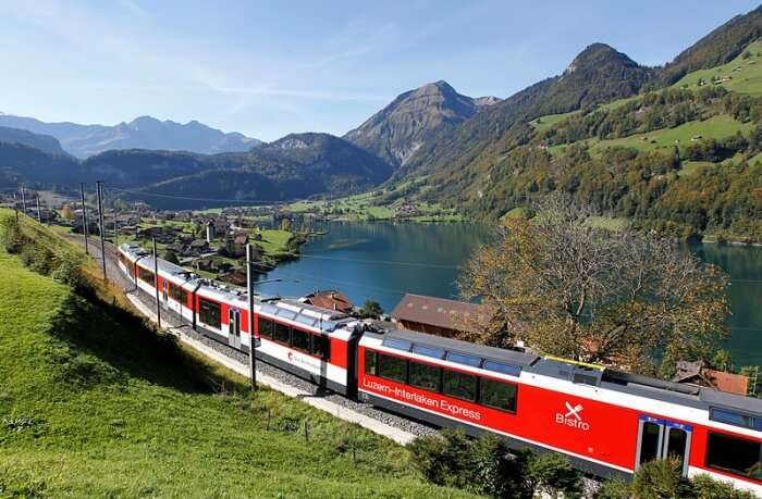 Golden Pass Line and Luzern Interlaken Express