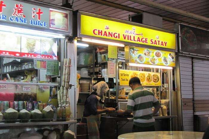 Grab the delicacies at Changi Beach