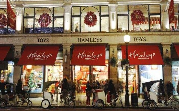 Hamleys In London