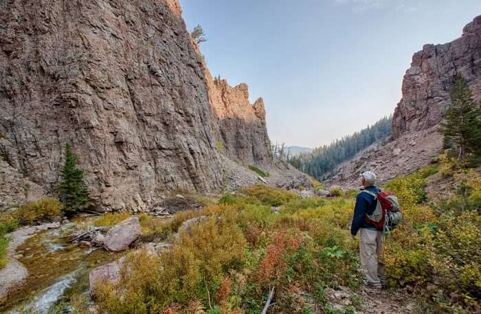 Hiking At Bear Mountains
