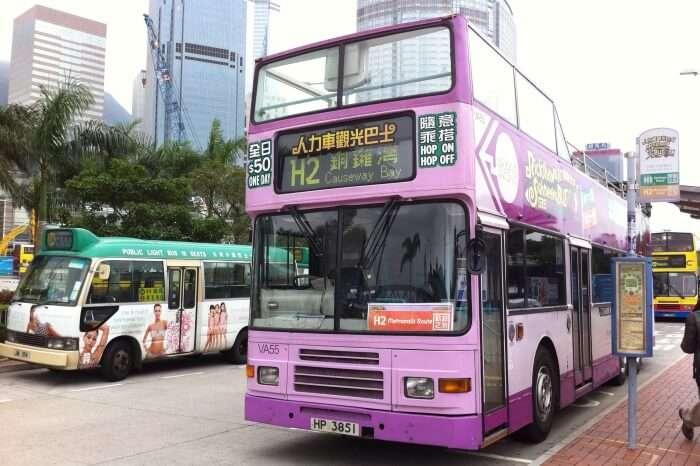 Hong Kong Hop-On Hop-Off Bus Tour