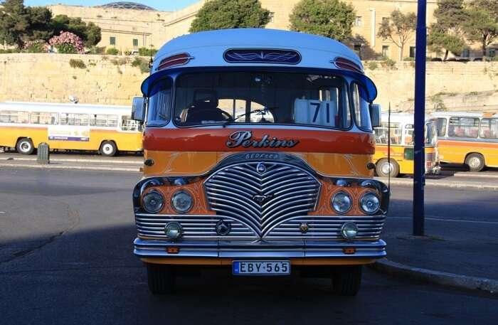 Malta Bus View