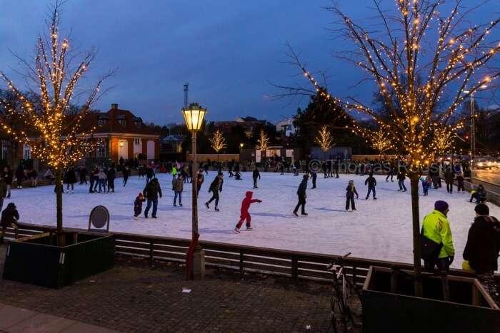 Ice-skating in Frederiksberg