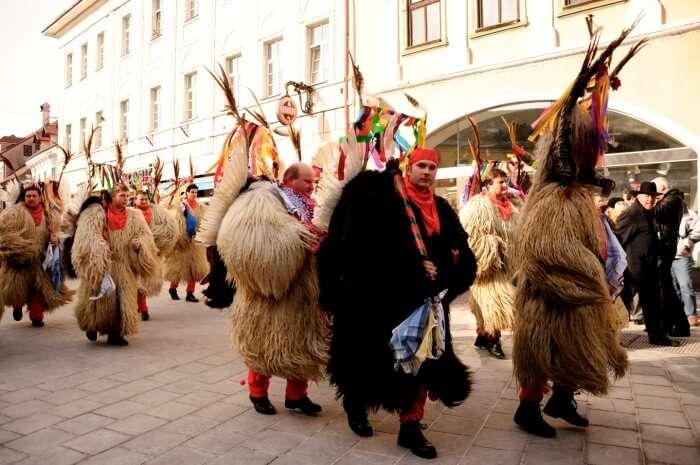 Kurents, Carnival in Kranj, Slovenia 2009