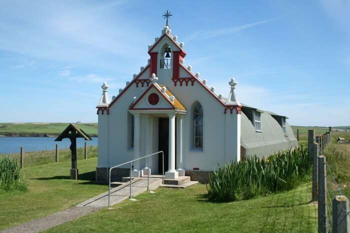 Italian POW Church