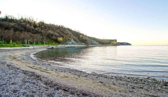 Izola Beach in Slovenia