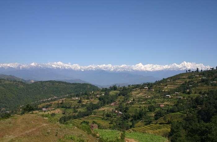 Kathmandu Valley view