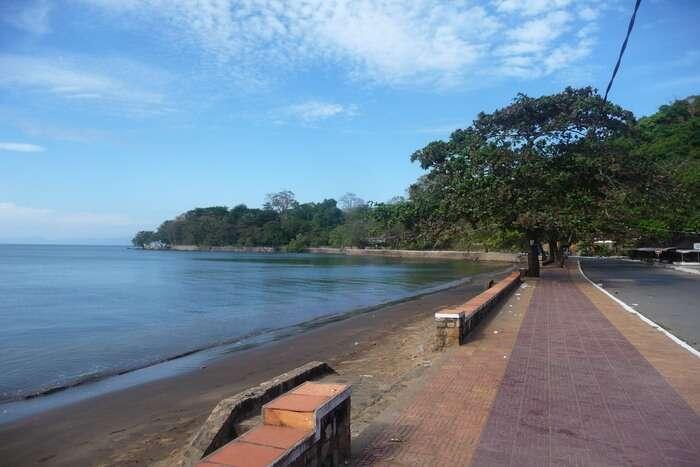 Kep Beach side