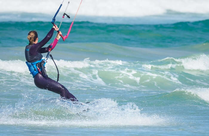 Kite Boarder Kite Surfing