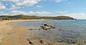 Legrena beach in Athens
