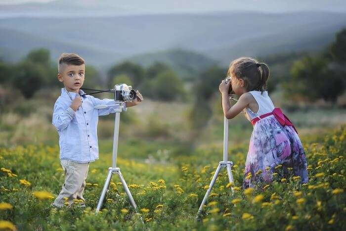 Make Your Child A Photographer