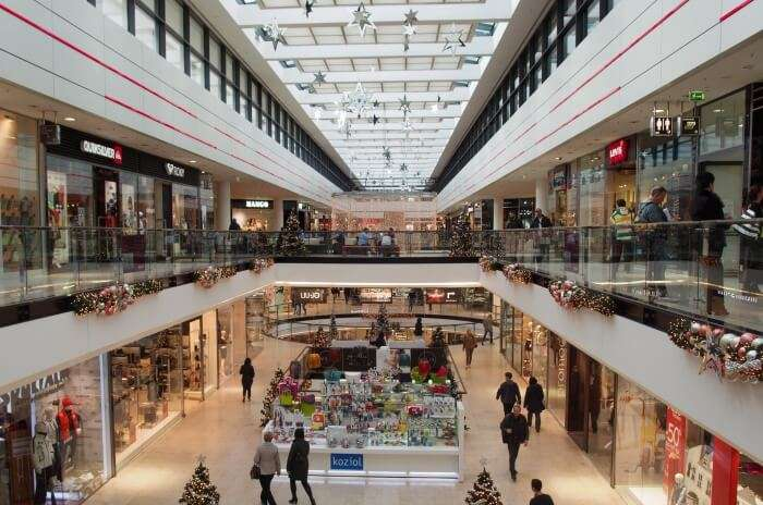Mall hopping in the most upscale market of the country