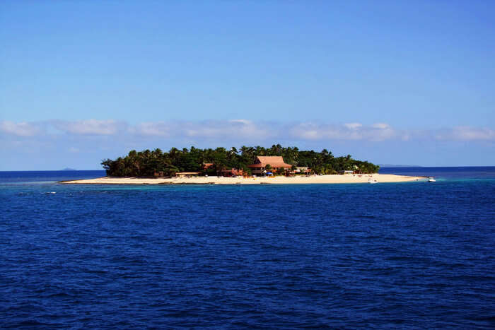 Small island view