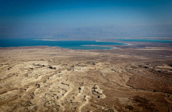 Masada And The Dead Sea