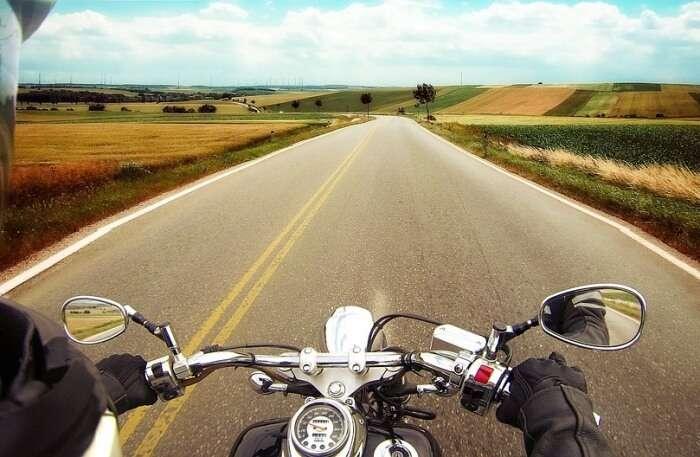 Motorbike view