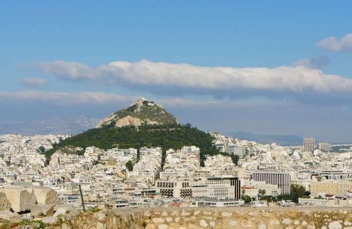 Mount Lycabettus climbing