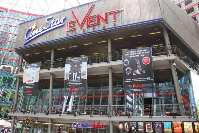 Movies At Cinestar Potsdamer Platz