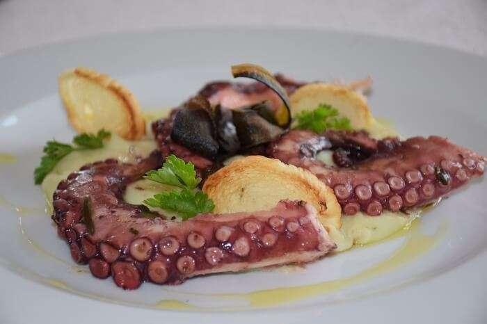 Dish Succulent Food Octopus Meal Meat Epicurean