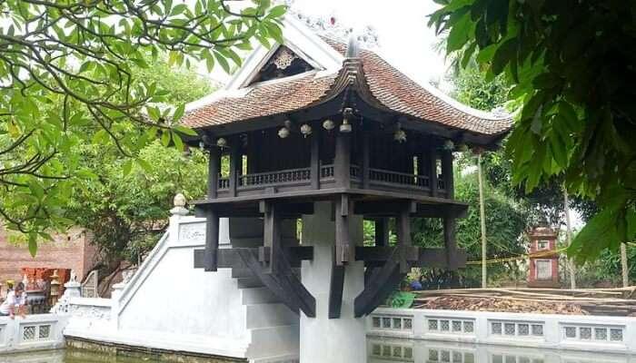 One Pillar Pagoda History