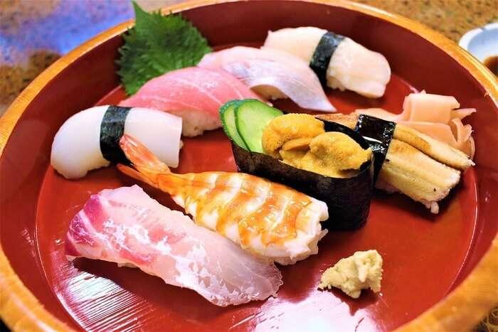 Sushi Japan Japanese Food